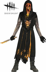Scorched Ghost Face Child Boys Costume Size L Large 12-14 NEW Dead by Daylight