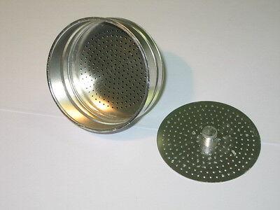 GAT 2x guarnizioni filtro doccetta imbuto caffettiera moka 6 tazze