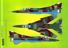 Model Maker Decals 1/48 MIKOYAN MiG-23UB Fighter in POLISH SERVICE