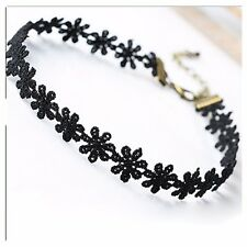 Vintage stretch  Love Flower Necklace Choker  Chain Jewelry (buy 1 get 2 free)