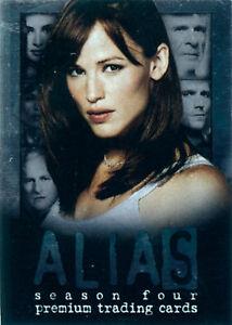 Verzamelkaarten, ruilkaarten Alias TV-Show Promo Trading Card ABC1 Verzamelingen
