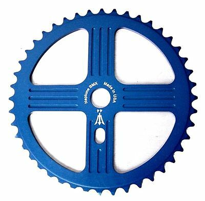 NEPTUNE BMX 33 tooth HELM Sprocket BLUE Gear for 19mm spindles Made in USA!
