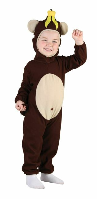 Toddler Animals Fancy Dress Boys Girls Halloween Book Week Costumes  Ages 2-3