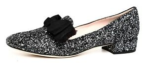 0a33a270353c Kate Spade New York Gino Leather Loafer Silver Women Sz 9 M 5004 ...