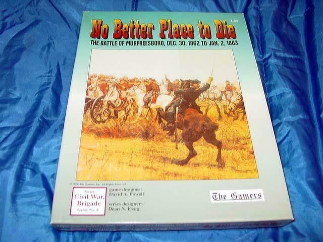 The Gamers - No Better Place to Die - Battle of MurfreesbGold, 1862-63 (PUNCHED)
