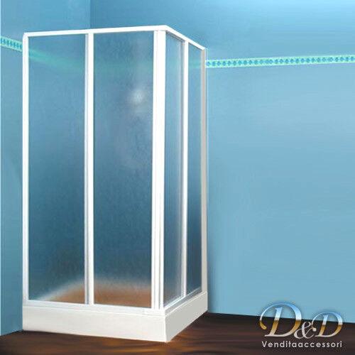CABINA BOX DOCCIA IN ACRILICO  80x80 85x85 90x90 - Art. S-02