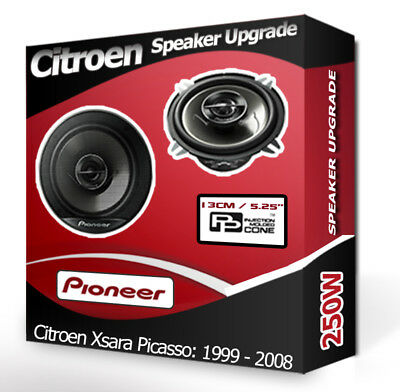 rear 13 cm 130 mm car speaker boxes Pioneer front speaker complete set for Renault