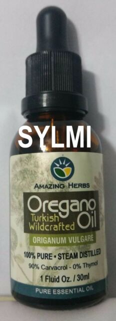 30ml PURE Turkish Wild Oregano Essential Oil 90% Carvacrol Origanum Vulgare 1 oz