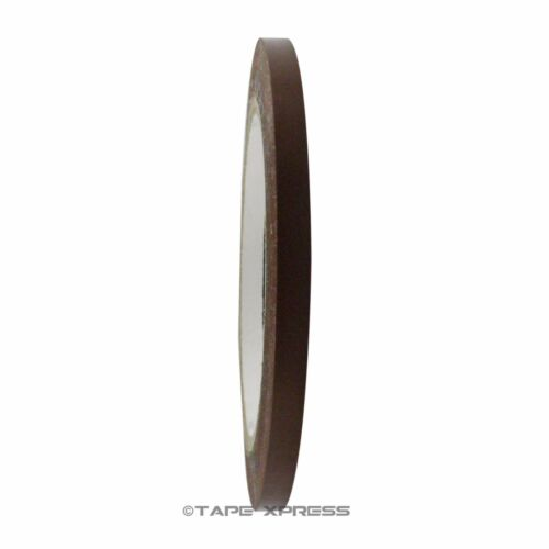 """1//4/"""" x 108/' Dark Brown Vinyl Adhesive Pinstriping Tape Lane Marking Car Decor"""