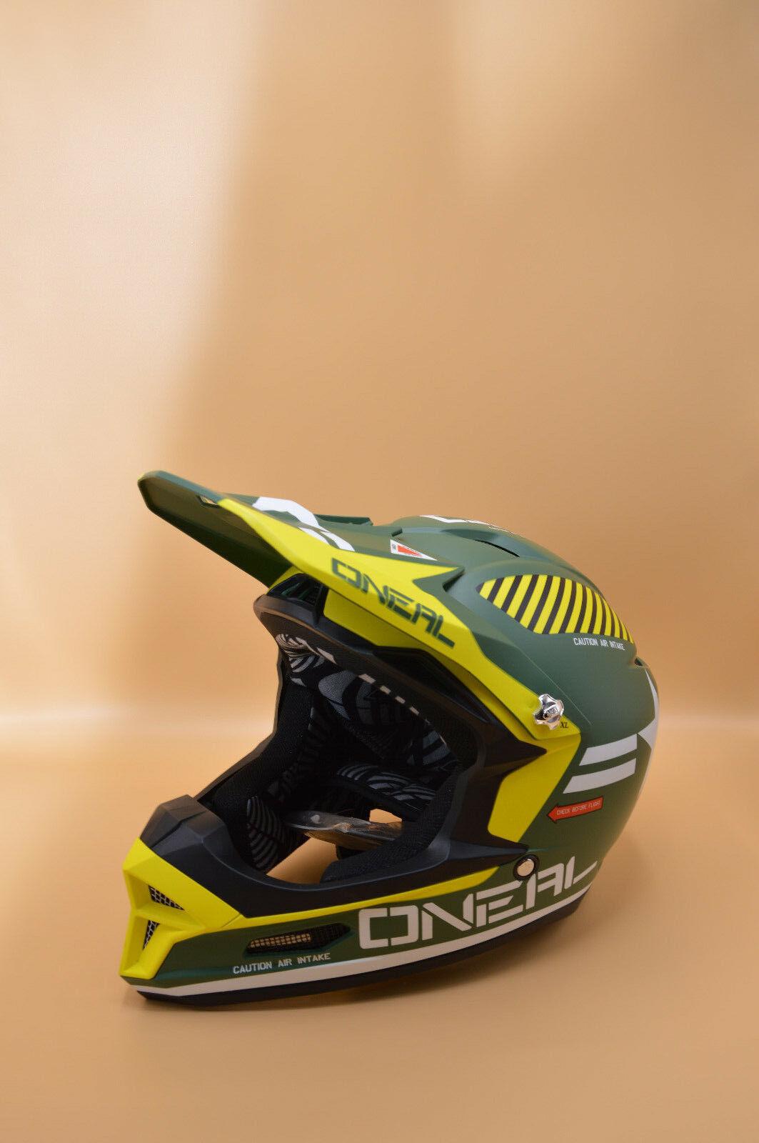 O'Neal Furia Rl Casco Postcombustore Bicicletta, Uomo, Taglia XL