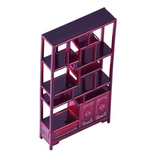Collectibles 1:25 Scale Mini Square Shelf Rack DIY Parts for Dollhouse Accs