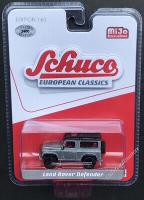 SCHUCO 8600 EUROPEAN CLASSICS LAND ROVER DEFENDER 90 1//64 Chase