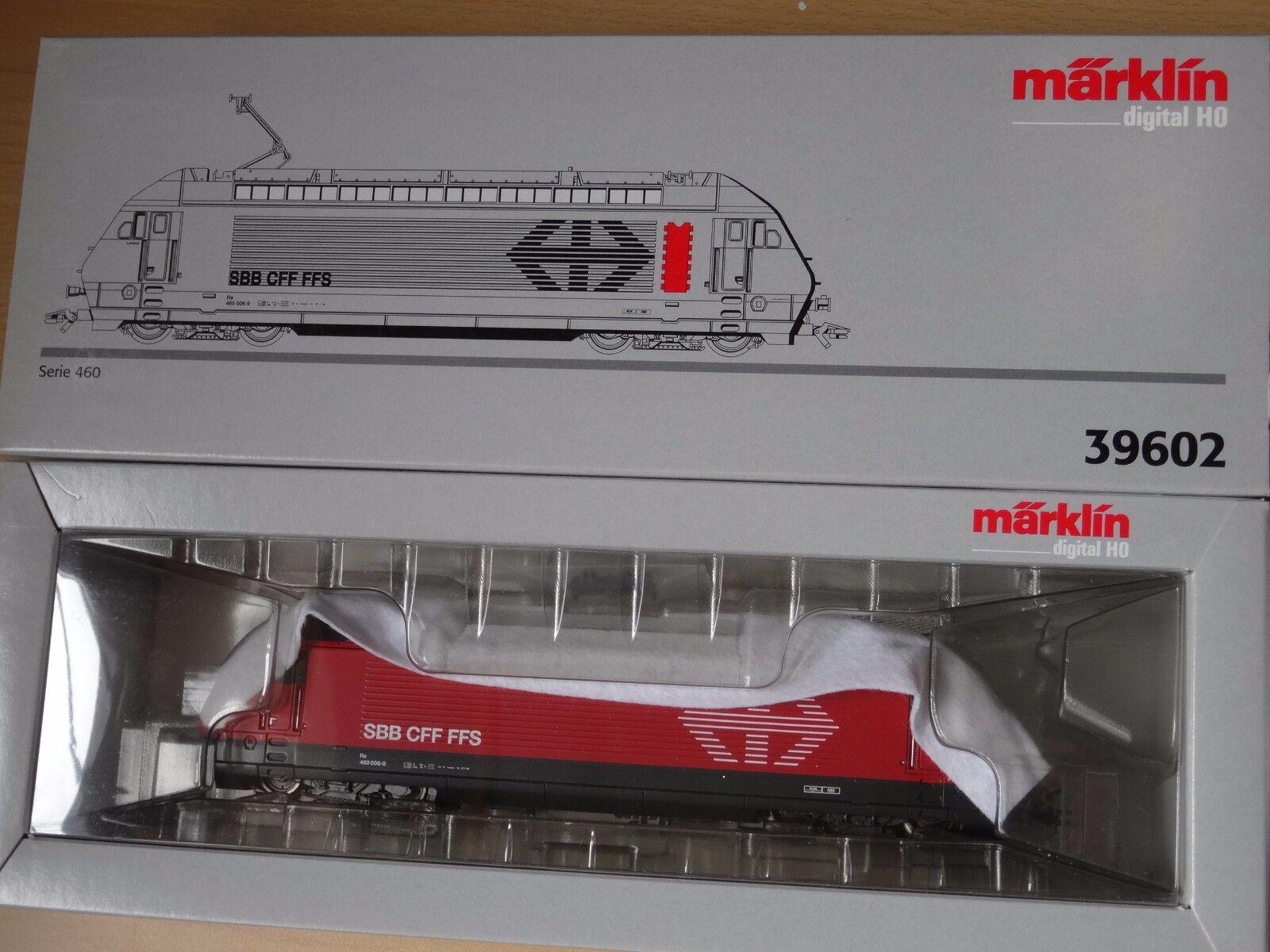 Marklin ho Art 39602 e-Lok serie 460 de la mercancía nueva SBB de resolución Cochegar