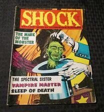 1970 SHOCK Chilling Tales of Horror v.2 #4 VG+ Stanley VAMPIRE Monster