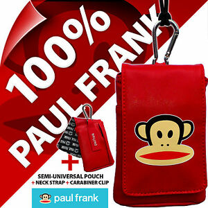 Paul-Frank-Red-Phone-Case-Pouch-Bag-for-iPhone-SE-5S-4S-Samsung-Galaxy-S4-Mini