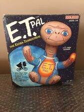 Vintage Coleco 1982  E.T. PAL 3 FT. High Life size The Extra-Terrestrial Blow Up