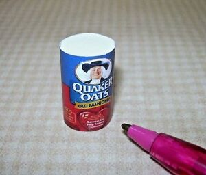 Miniature-Cindi-039-s-Minis-Oatmeal-Canister-for-DOLLHOUSE-Kitchen-DOLLHOUSE-1-12