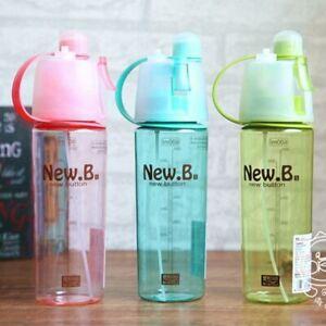 Water Bottle Sport Spray Bottles Outdoor Shaker Sports Plastic Tea Cup Drinkware