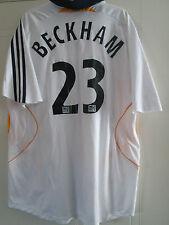 LA Galaxy 2007-2008 Beckham 23 Home Football Shirt Size Large Adult /39994