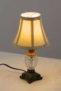 lampe de table style campagne lampe de bureau lampe chevet liseuse beige 55454 ebay. Black Bedroom Furniture Sets. Home Design Ideas