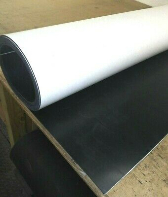 "Neoprene Rubber Solid Sheet w//Peel-Back Adhesive 1//8/""Thk x 8-1//2/"" x 11/"" Pad"