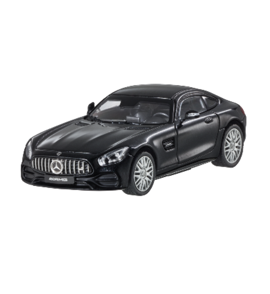 MERCEDES BENZ C 190-AMG GT Coupe Facelift Nero 1:43 NUOVO OVP