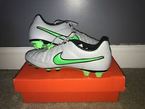 best sneakers 38266 6ceda Details about New Nike Tiempo Legend VI FG Women's Size 10.5 Soccer Cleats  819256-107 Leather