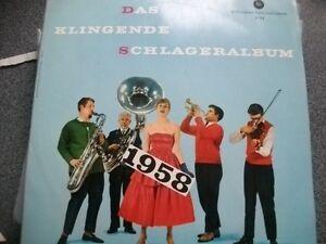 DAS-KLINGENDE-SCHLAGERALBUM-1958-LP-Vinyl-rar