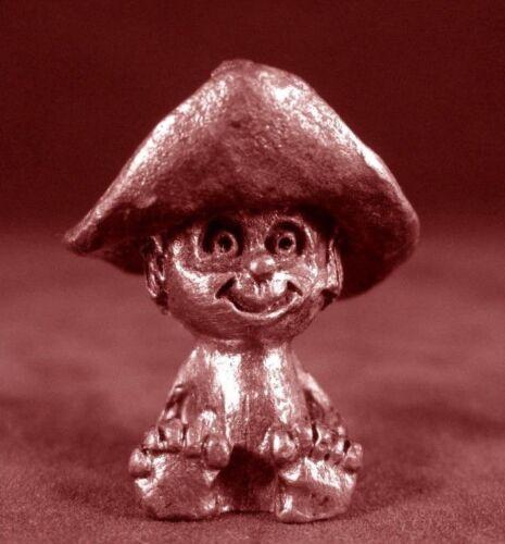 Pewter Hillybilly Boy Figurine