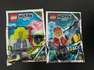 LEGO 791901 and 792005 Hidden Side Jack and Possessed Biker New Polybags