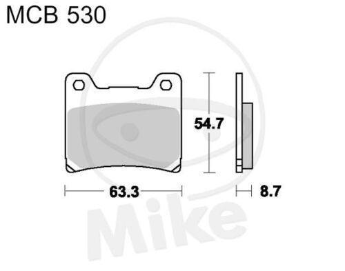 TRW Lucas Pastiglie mcb530 ANTERIORE YAMAHA FZR 600 H Genesis