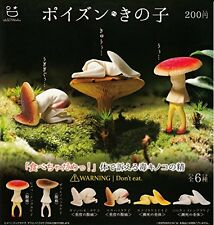 Poison-out Of Child 6 Pics Set Capsule Toys From Japan