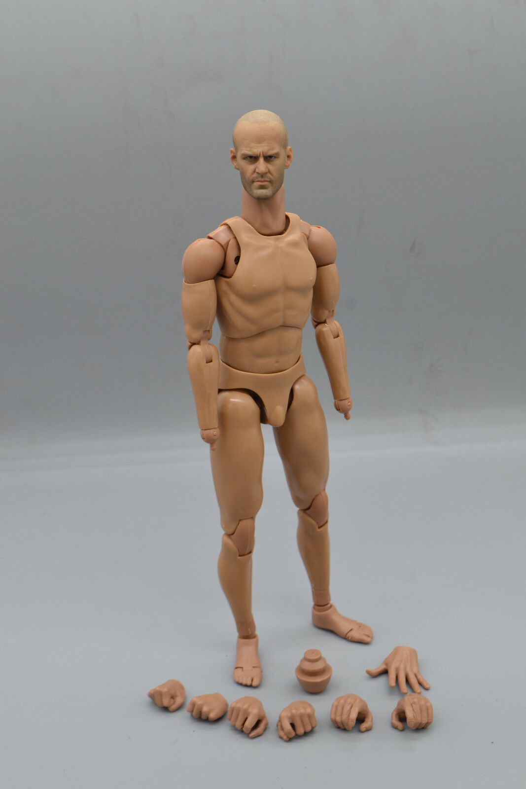 1 6 Scale Jason Statham HeadSculpt With Male Action Figure Body Doll Toys