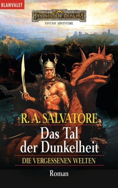 Salvatore, R. A. - Das Tal der Dunkelheit. (Die vergessenen Welten 4) /4