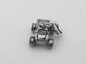 Pewter-Monster-Truck-Charm-Fits-Traditional-and-European-Bracelets-5418