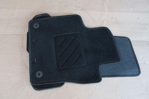 NEU Fußmatte VW Beetle 5C vorne hinten ab 11-16 Schwarz Stoff Original Komplett