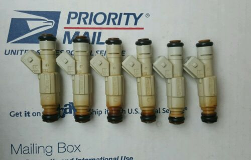 BOSCH 36lb Fuel Injectors VW VR6 Porsche 911 BMW M3 M30 E30 E28 E36 M50 6
