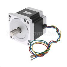 1pc Hybrid Stepper Motor Nema34 18 55a 2 Phase 4 Wires For Engraving Machine