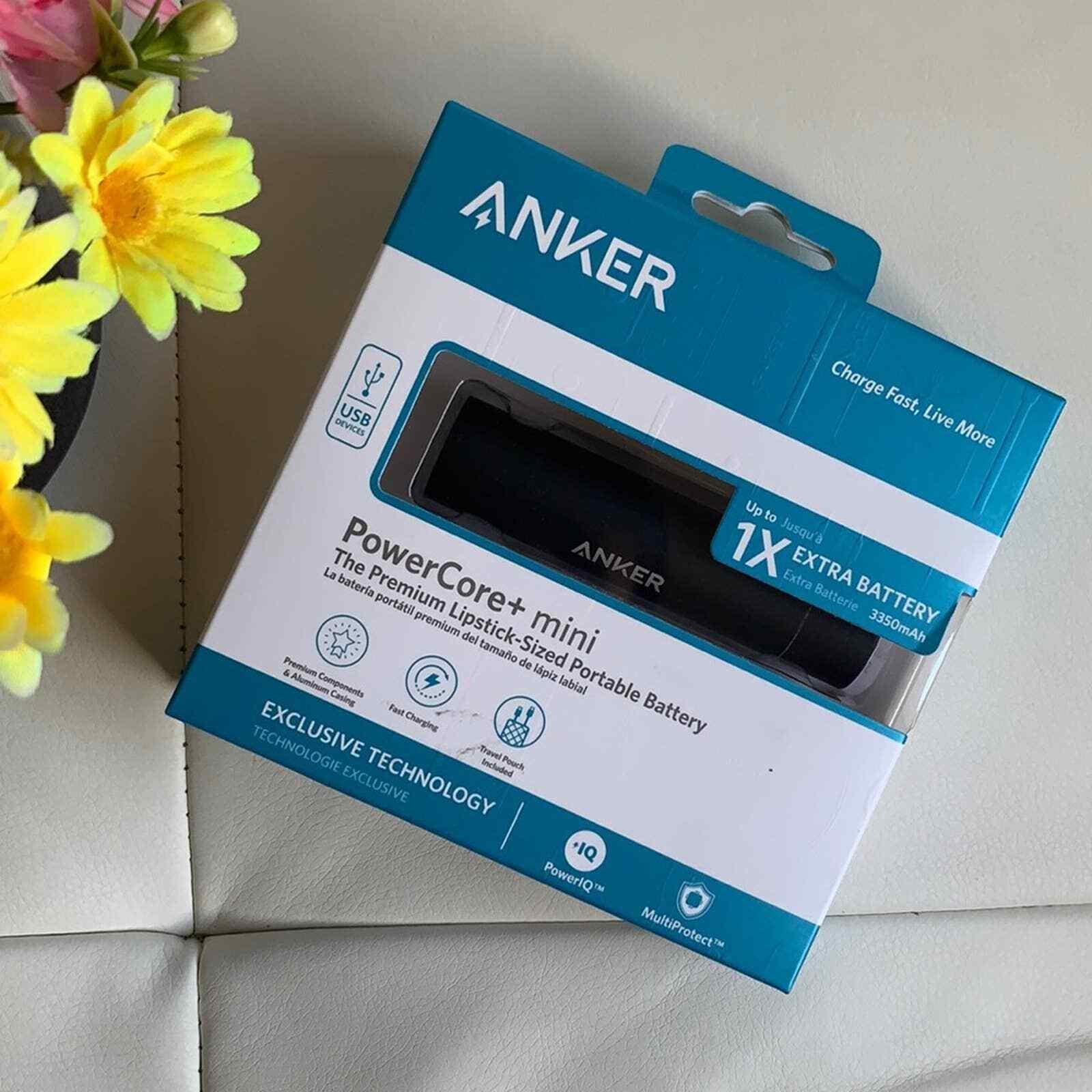 ANKER Lipstick-Sized Portable Battery Power Core+