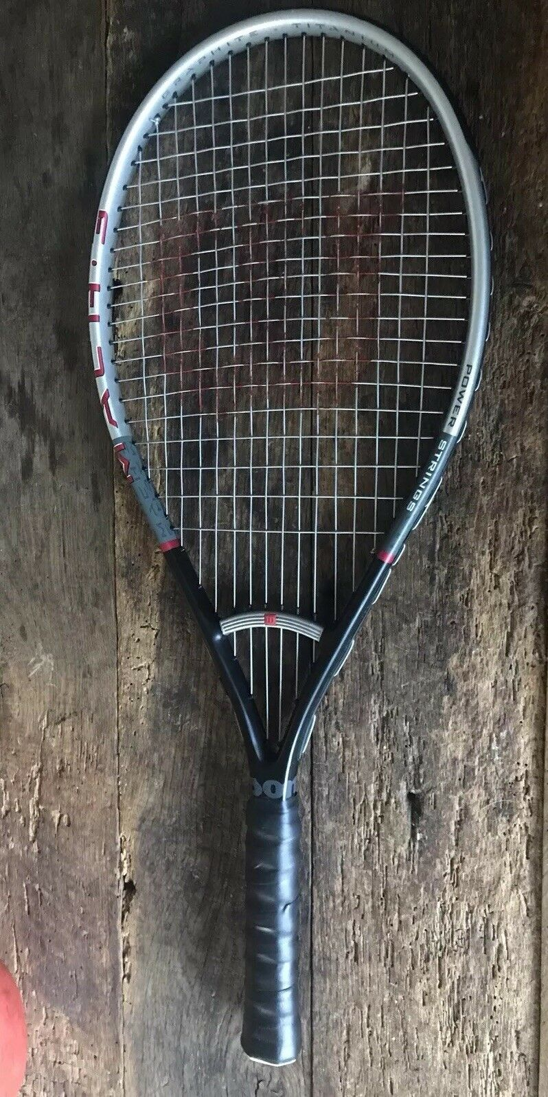 "Wilson Mach 3 Oversize Tennis Racquet 4 1 2"" Excellent Condition"