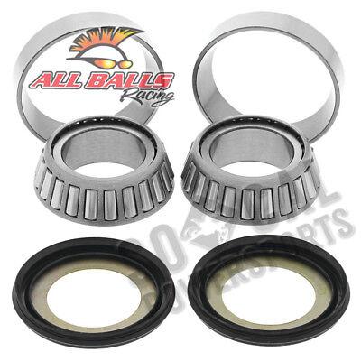 Models 22-1032 All Balls Tapered Steering Stem Bearing Kits Harley HD Fits 200