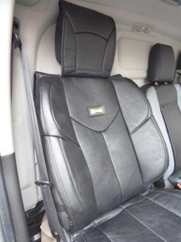 2017 Ymdx Schwarz Passend für Toyota Proace Van Sitzbezug Einzeln Polster