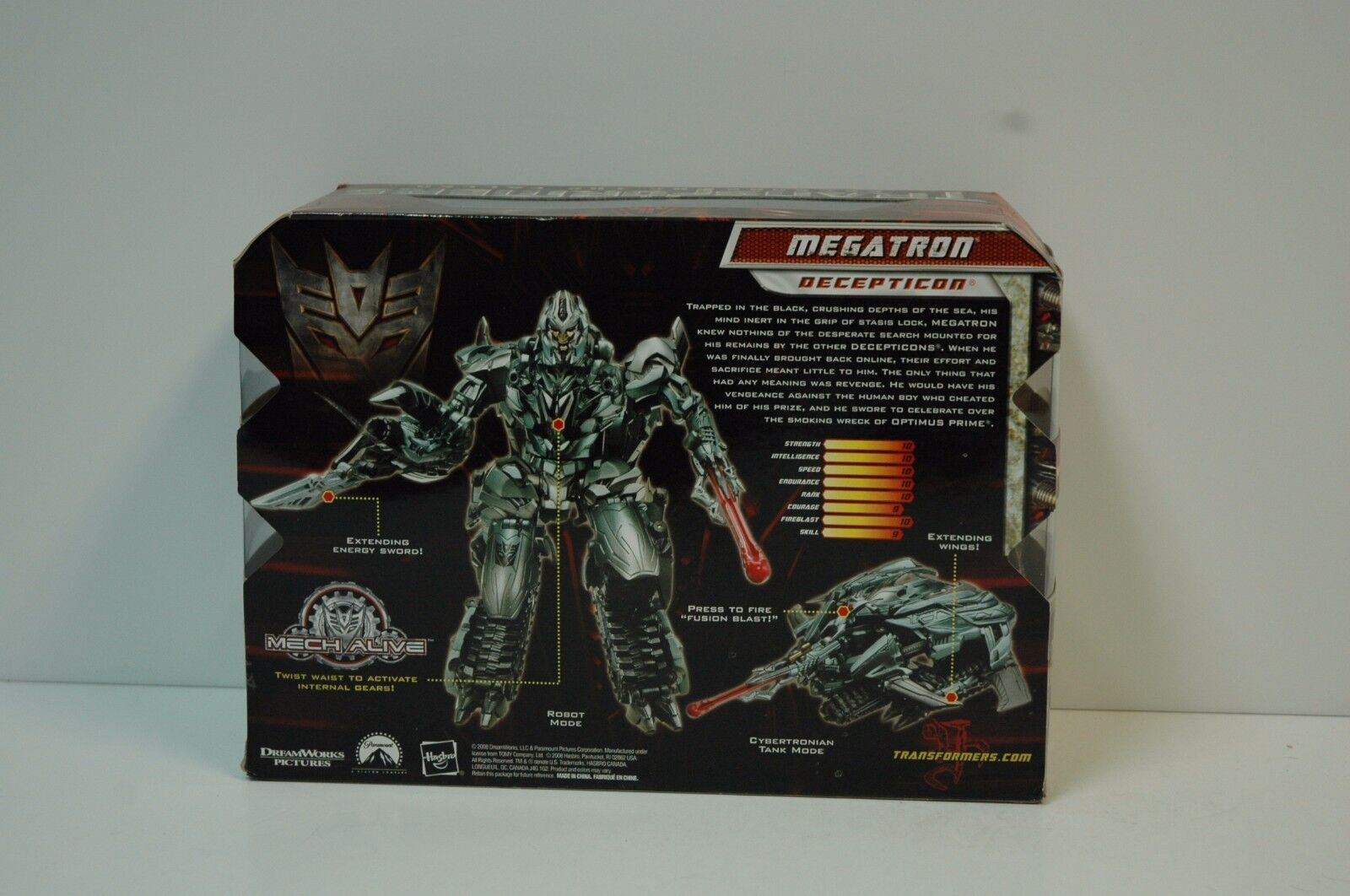 Transformers MEGATRON Revenge of the the of Fallen MIB cd8566