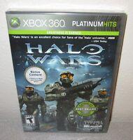 Halo Wars Sealed Microsoft Xbox 360 Rts Strategy Based Game W/bonus Content