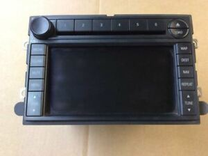 Image Is Loading 07 Ford Expedition Radio W Navigation Navi System