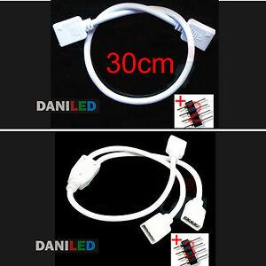 Conector-alargador-RGB-30cm-2-4pin-o-Conector-divisor-2-puertos-RGB-3-4pin