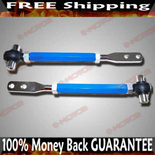 Front Tension Rod BLUE for 89-94 240SX S13 95-98  240SX S14 90-96 300ZX