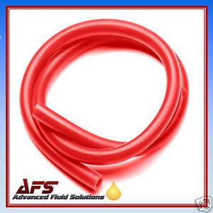 Das Bild wird geladen 5mm-x-1-M-RED-SILICONE-HOSE-3-  sc 1 st  eBay & 5mm x 1 M RED SILICONE HOSE 3/16 SILICON TUBING VACUUM | eBay
