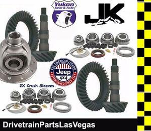 Yukon Jeep Wrangler JK Gear Set Master Gear Pkg 07-17 Dana 44 & 30