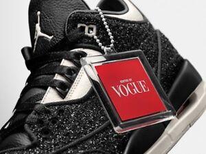 "47f3cf6632106c New Nike BQ3195 001 Air Jordan 3 III Retro Vogue Awok ""Anna Wintour ..."